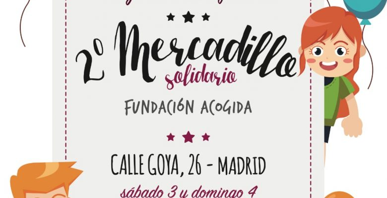CARTEL Segundo Mercadillo Solidario